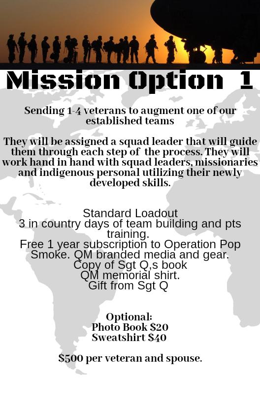mission option 1 operation restore hope